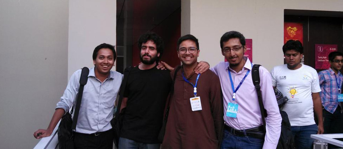 Runners Up in Hackathon – Pakistan Innovation Foundation (PIF)