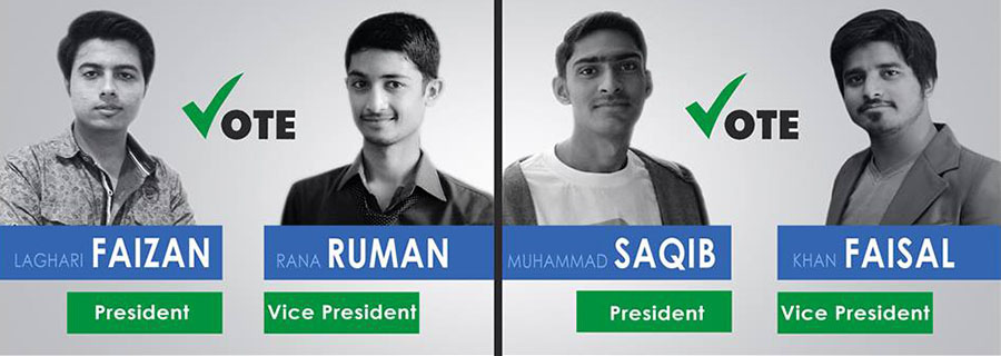 Shades Election Campaign 2015-16
